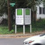 San Francisco Real Estate Signs post panel outdoor real estate 150x150